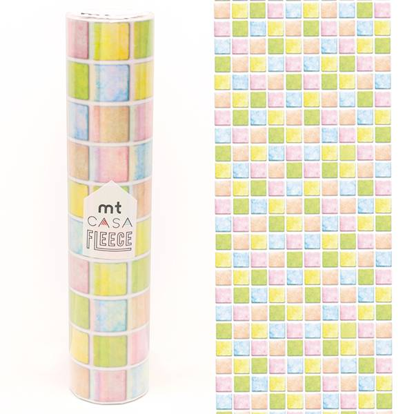 MT casa washi fleece tile mosaic