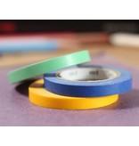 MT washi tape slim set monocolor
