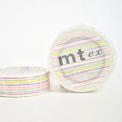 MT washi tape enpitsu border