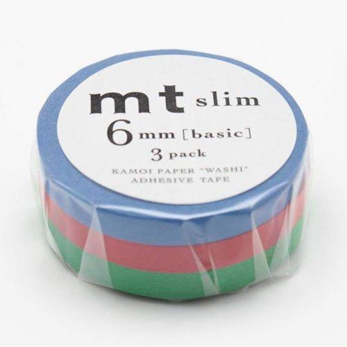 MT masking tape slim set monocolor 2