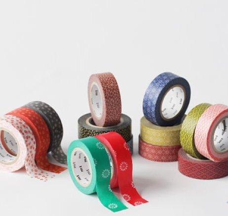 MT masking tape Nejiriume Akadaidai