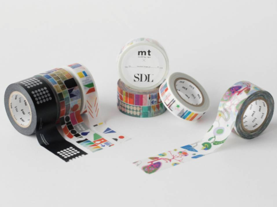MT washi tape SDL Remixed Shapes