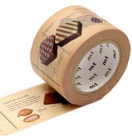 MT  MT washi tape ex encyclopedia chocolate