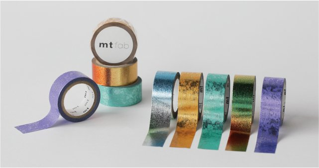 MT masking tape fab Piece Silver
