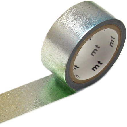 MT washi tape fab Piece Silver