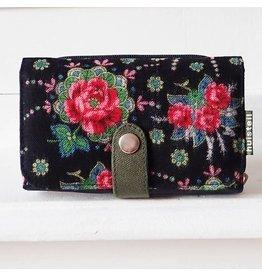 Huisteil creaties Double printed beurs Huisteil Dark Rose