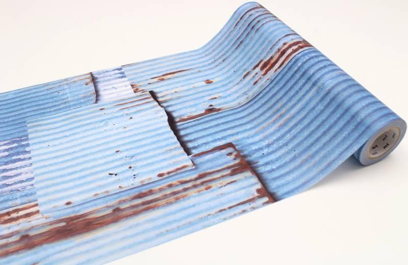 MT casa washi fleece Rusty Tin