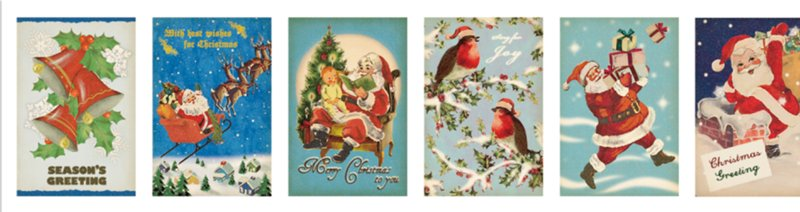 MT washi tape Christmas Card