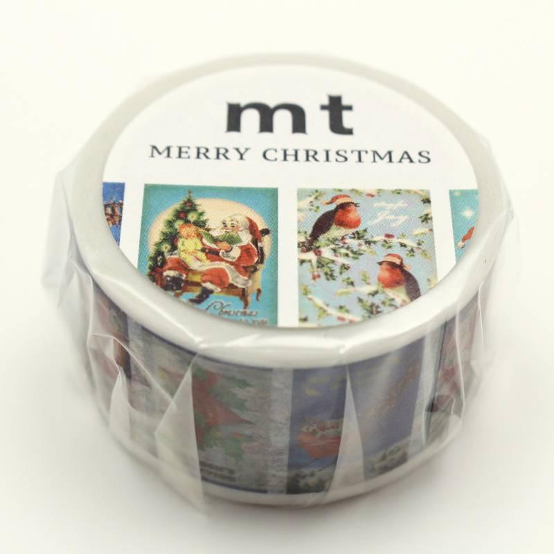 MT masking tape Kerst Christmas Card