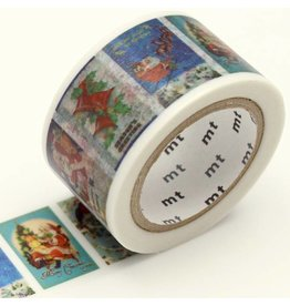 MT  MT masking tape Kerst Christmas Card