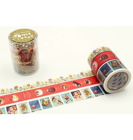 MT  MT washi tape Kerstset 1