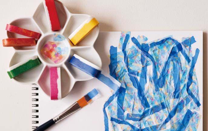 MT washi tape ART waterverf 9 mm