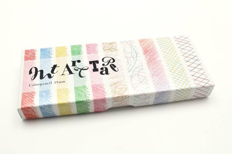MT masking tape ART kleurpotloden 15 mm