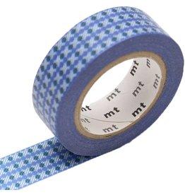 MT  MT washi tape dot stripe blue