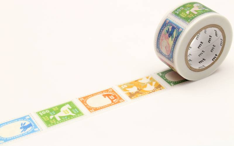 MT washi tape ex postage stamp