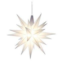 Kerstster Herrnhuter hanglampje