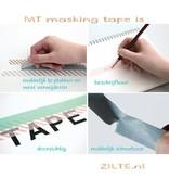 MT masking tape giftbox pastel effen