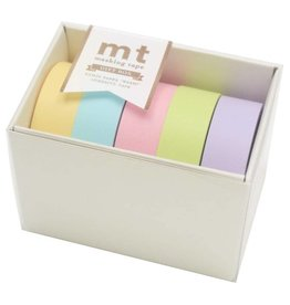 MT  MT washi tape giftbox pastel effen