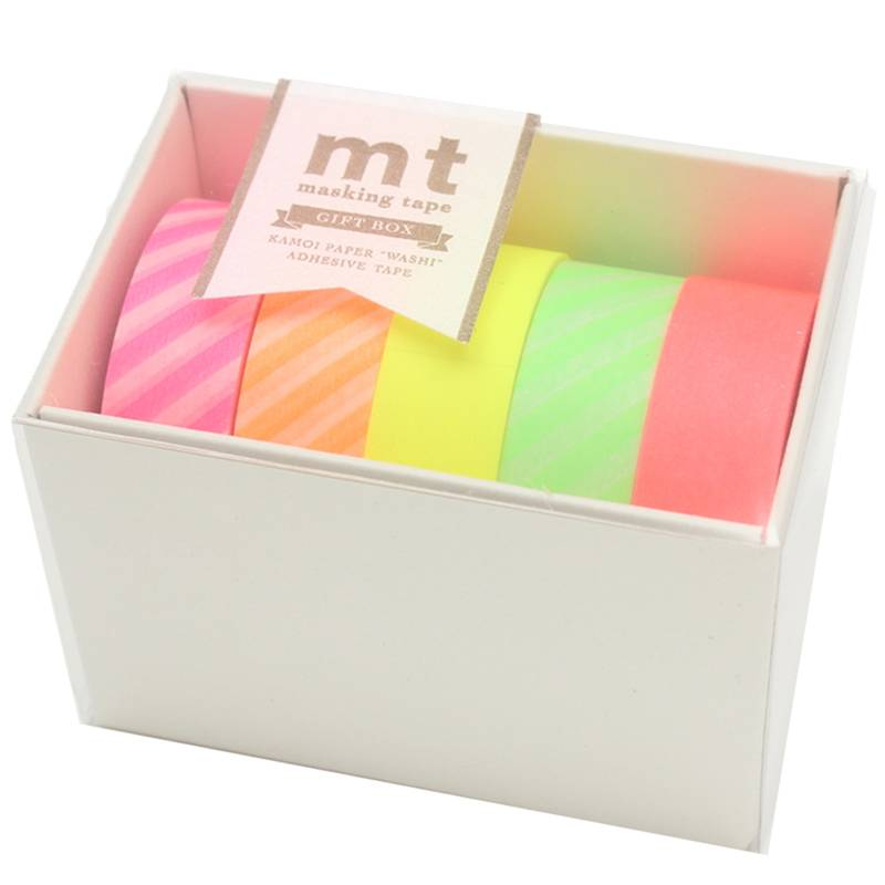 MT masking tape giftbox Neon