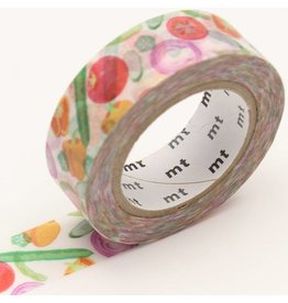 MT  MT washi tape ex summer vegetable