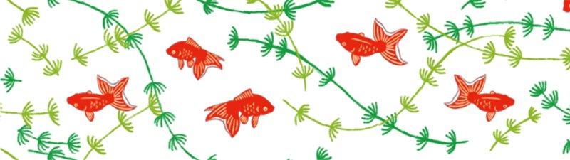 MT washi tape ex Goldfish