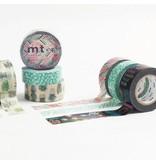 MT washi tape ex Flower stamp