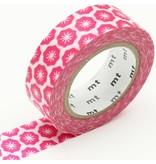 MT masking tape ex Flower stamp