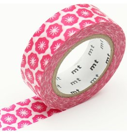 MT  MT washi tape ex Flower stamp