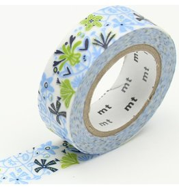 MT  MT washi tape ex Alma blue