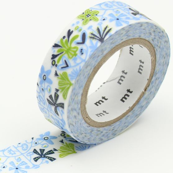 MT masking tape ex Alma blue