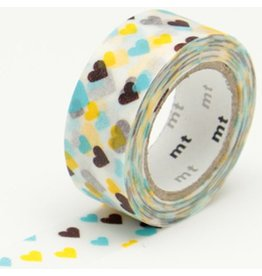 MT  MT washi tape kids motif hearts