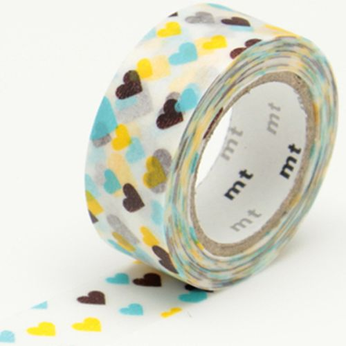 MT washi tape kids motif hearts
