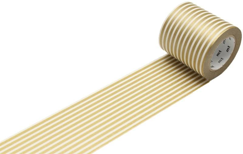MT washi tape casa border gold 50 mm