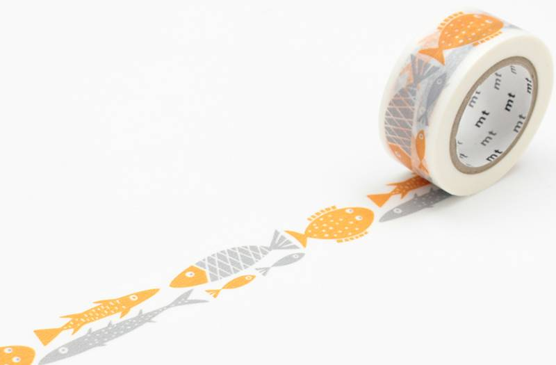 MT washi tape Fish