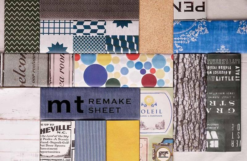 MT casa washi remake sheet William Morris Bluebell