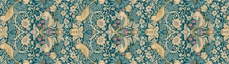 MT casa remake sheet William Morris Strawberry thief