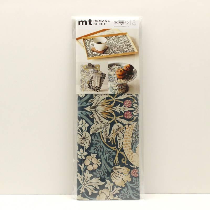 MT casa washi remake sheet William Morris Strawberry thief