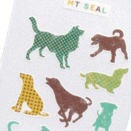 MT casa Seal Silhouette Dog