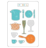 MT casa Seal Silhouette Kitchen ware