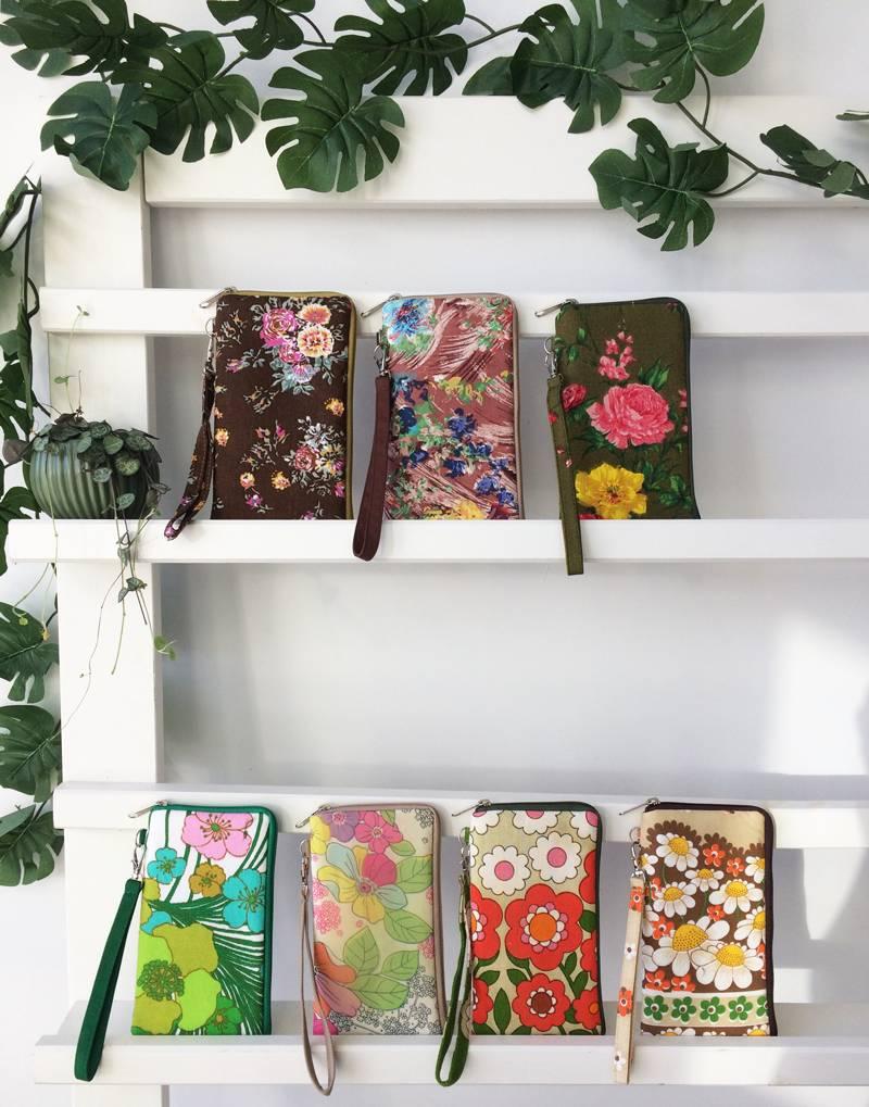 Telefoonhoesje Huisteil vintage bloom