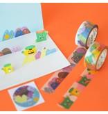 Washi tape set cartoon sweet monsters