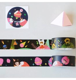 Atomic Soda Washi tape set cartoon strawberry
