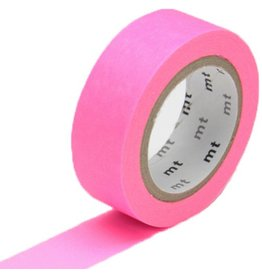 MT  MT washi tape shocking pink