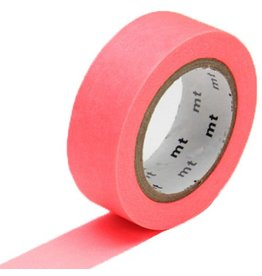 MT  MT washi tape shocking red