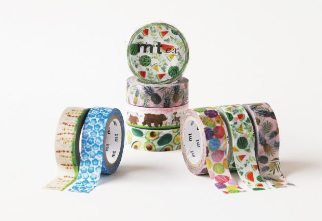 MT washi tape ex Avocado