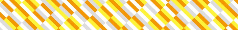 MT washi tape block stripe orange