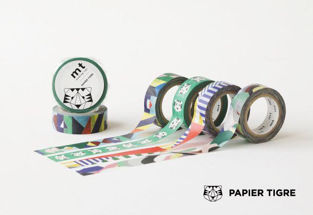 MT masking tape ex Papier tigre le Tigre