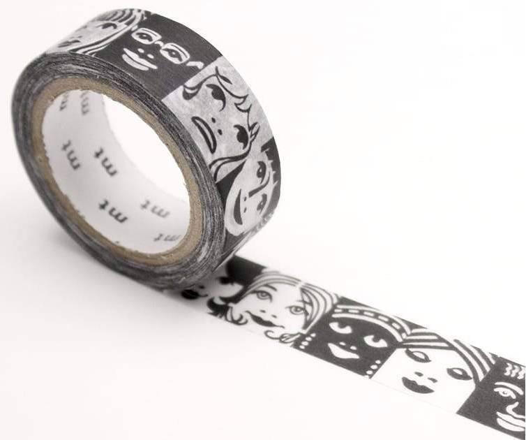 MT masking tape ex  Erik Bruun Faces