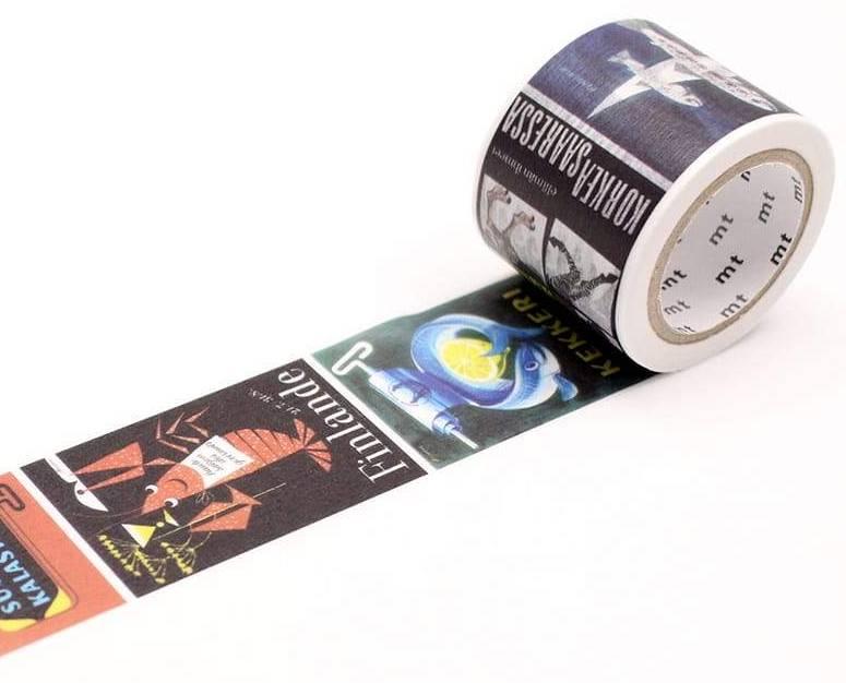 MT masking tape ex  Erik Bruun Poster