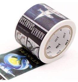 MT  MT masking tape ex  Eric Bruun Poster